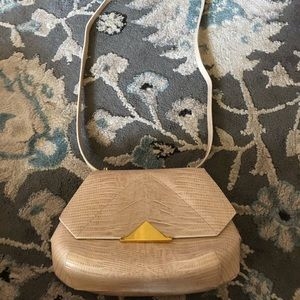 Maison Etnad limited edition lizard embossed bag